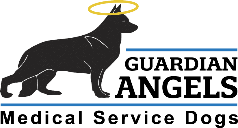 Guardian Angels - Medical Service Dogs Logo